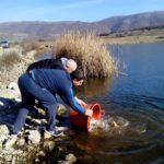 Poribljava se Smilovsko jezero