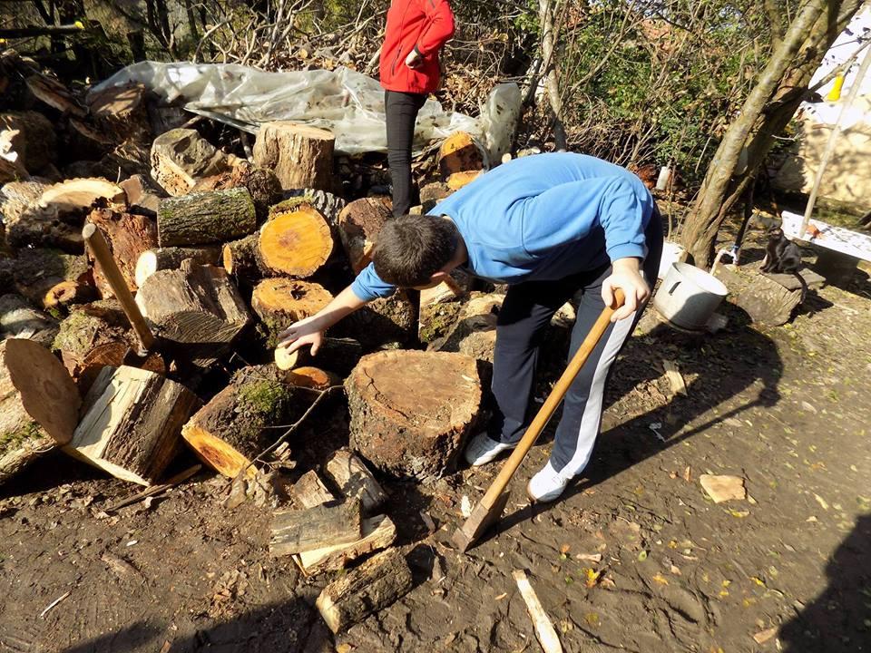 Photo of Starima i nemoćnima pomažu u pripremi ogreva za zimu