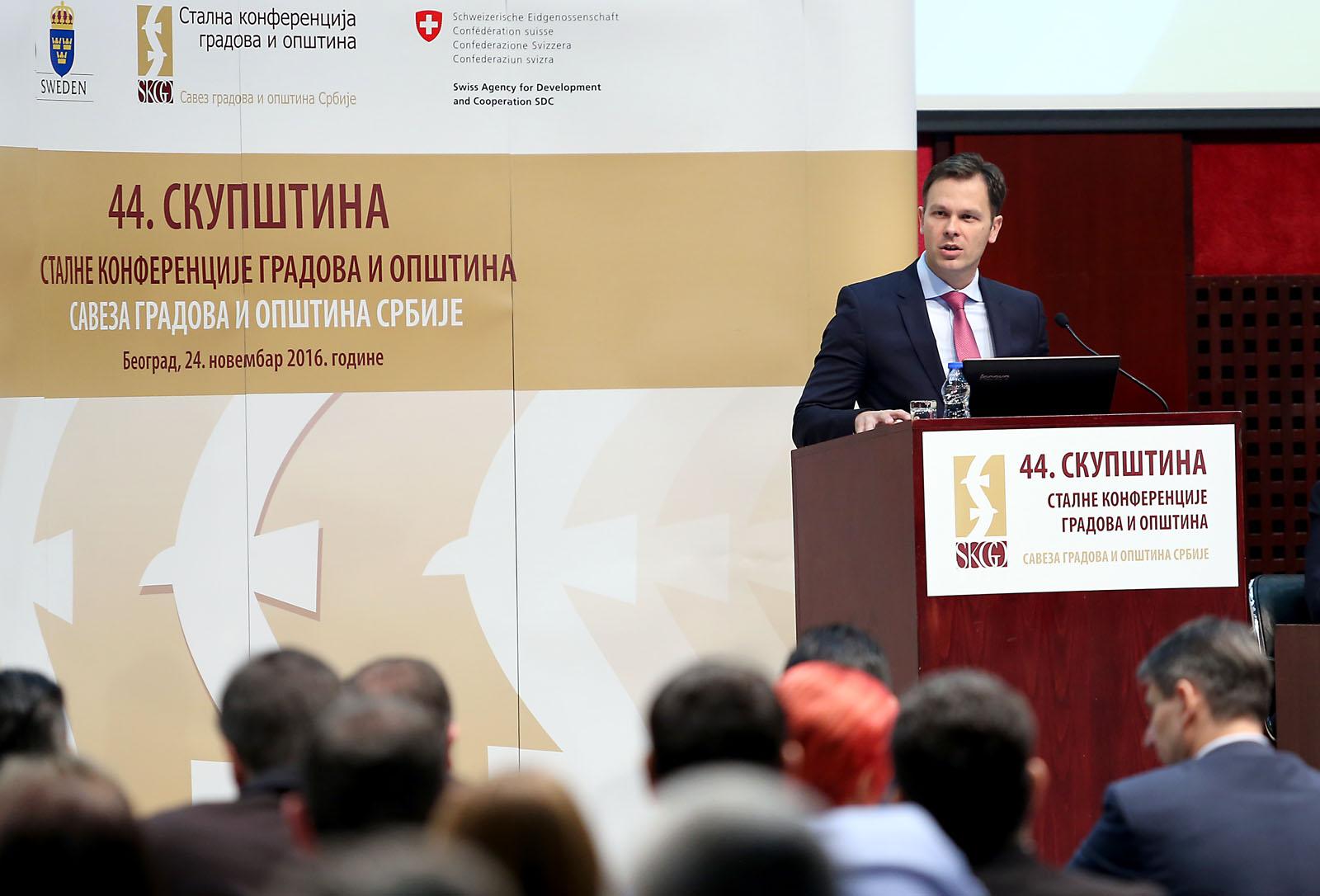 Photo of Vasić na Skupštini Stalne konferencije gradova i opština: Pirot je uvek bio okrenut ka investitorima