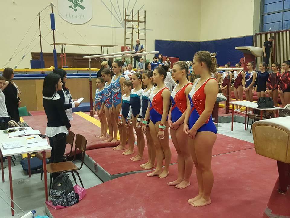 Gimnastičari treći u Novom Sadu