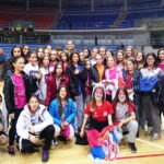 Pirotske košarkašice pružile podršku reprezentaciji Srbije