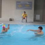 Bontoniranje - Na bazenu