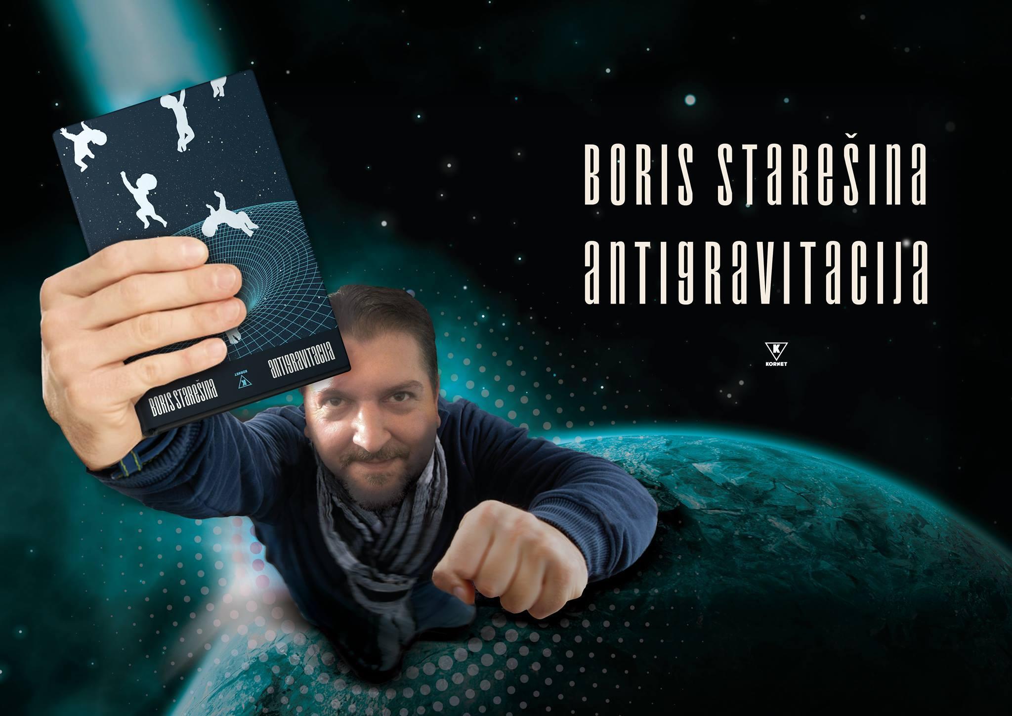 "Photo of ""Antigravitacija"", knjiga Borisa Starešine predstavljena pirotskoj publici"