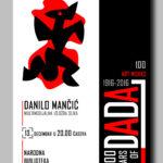 100 godina dadaizma – izložba radova Danila Mančića