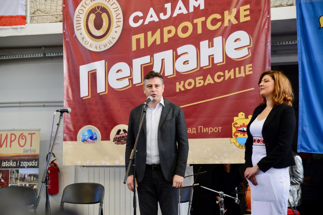 Photo of Vasić: Sajam pirotske peglane odlična je promocija ovog brenda