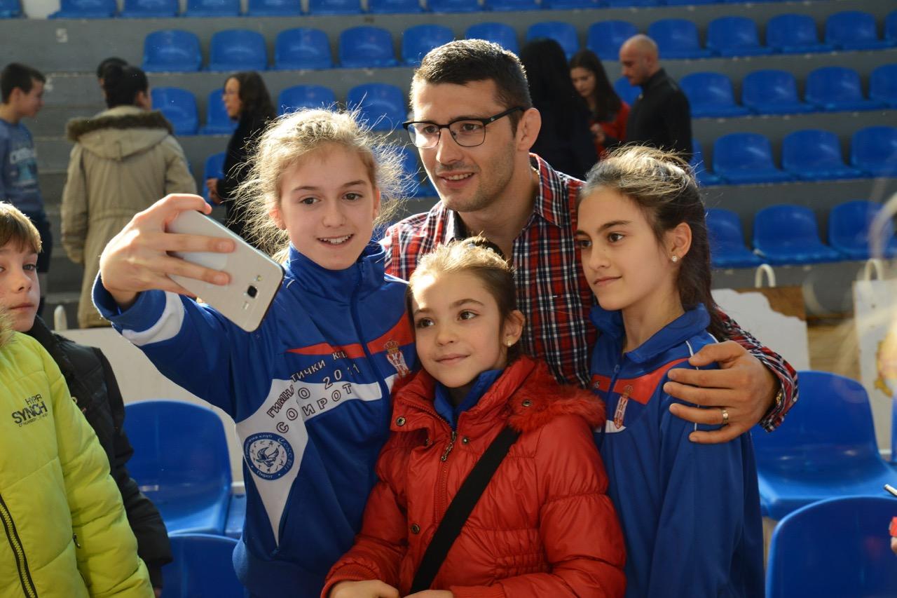 Photo of Davor Štefanek, promoter ovogodišnje Božićne škole sporta, najbolji rvač na svetu