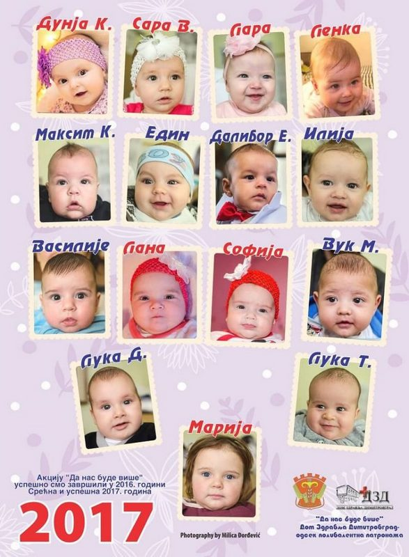 Photo of Dimitrovgrad: Promocija kalendara sa likovima beba