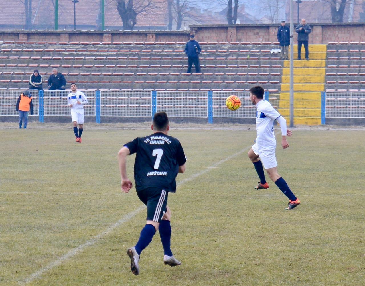 Photo of Beli iz utakmice u utakmicu sve bolji, savladan Moravac Orion 1:0