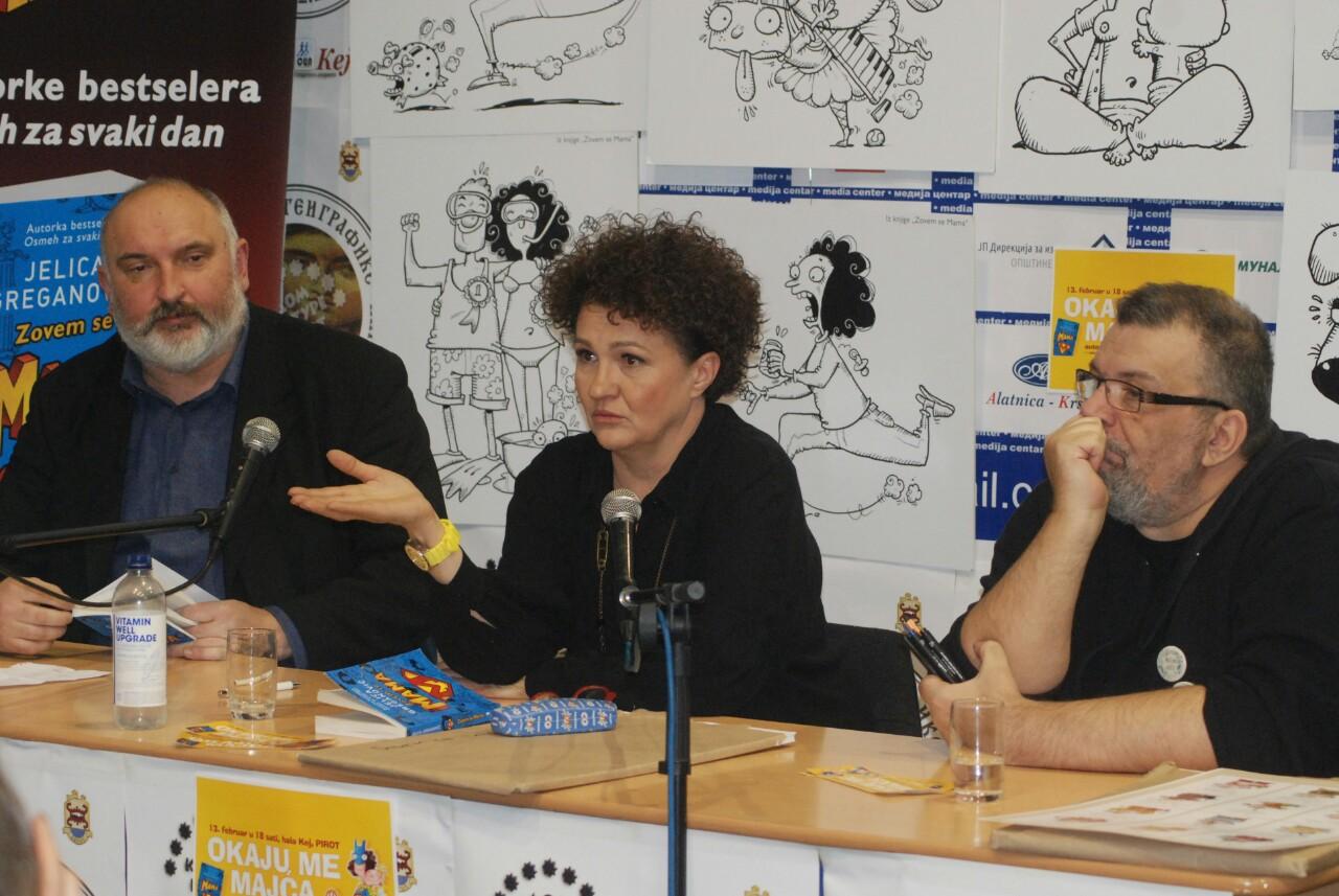 Photo of Novi bestseler Jelice Greganović, publici predstavljene i ilustracije Boba Živkovića