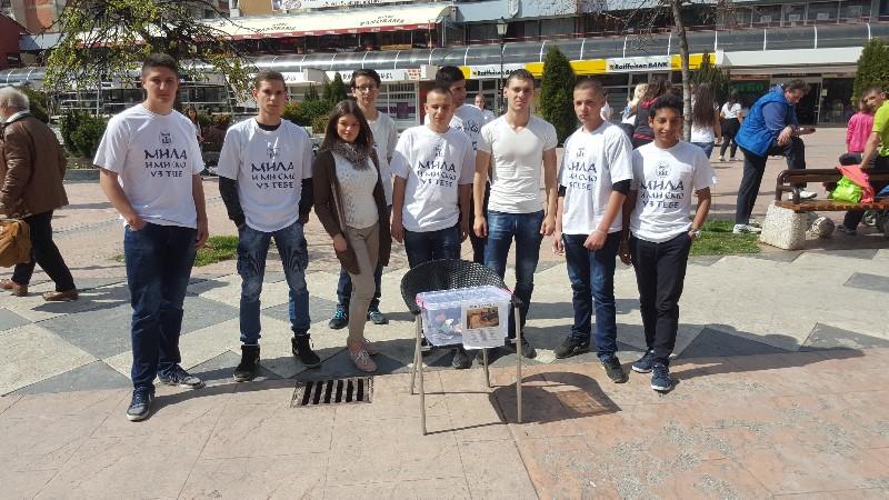 Photo of Učenici Srednje stručne škole organizuju humanitarnu akciju na trgu
