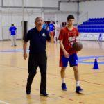 Ognjen Ignjatović na pripremama mlade kadetske reprezentacije Srbije