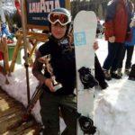 "Članica Ski i snoubord kluba ""Stara planina"" donela Srbiji dva pehara sa takmičenja u Italiji"
