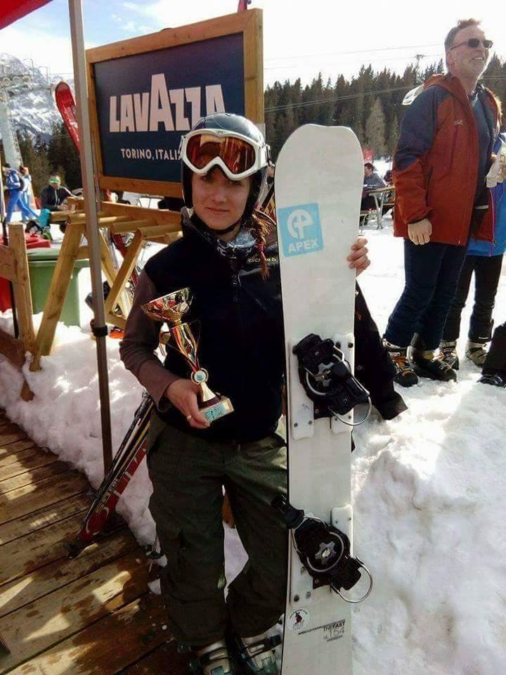 "Photo of Članica Ski i snoubord kluba ""Stara planina"" donela Srbiji dva pehara sa takmičenja u Italiji"