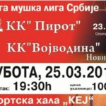 "KK ""Pirot"" dočekuje ""Vojvodinu"""