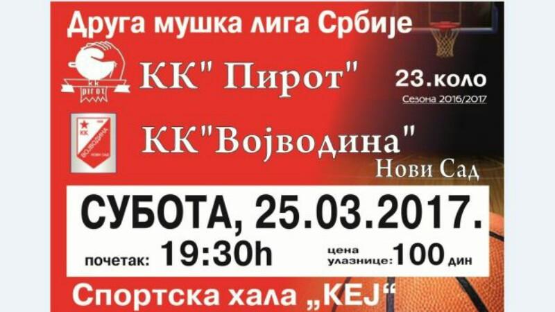 "Photo of KK ""Pirot"" dočekuje ""Vojvodinu"""