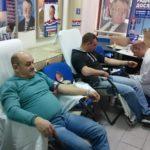 Akcija dobrovoljnog davanja krvi u prostorijama SRS u Pirotu
