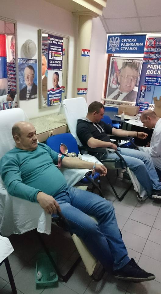 Photo of Akcija dobrovoljnog davanja krvi u prostorijama SRS u Pirotu