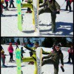 Članica pirotskog skijaškog kluba na takmičenju u Italiji