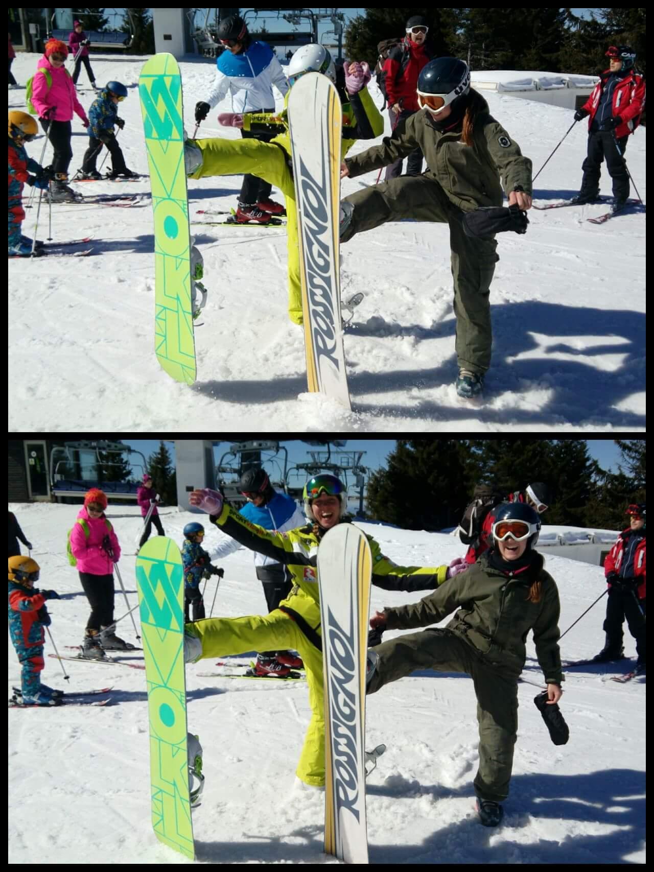 Photo of Članica pirotskog skijaškog kluba na takmičenju u Italiji