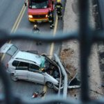 Teška saobraćajka kod Staničenja, jedna osoba poginula