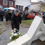 Pomen kraj spomenika u Jevrejskoj ulici