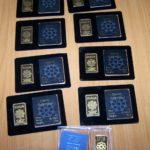 Zaplenjene zlatne pločice na Gradini - islamski dinari