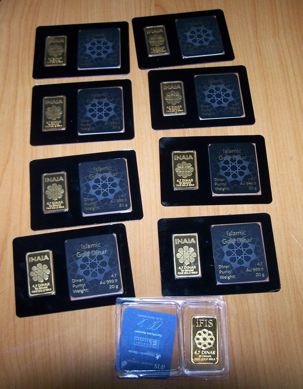 Photo of Zaplenjene zlatne pločice na Gradini – islamski dinari