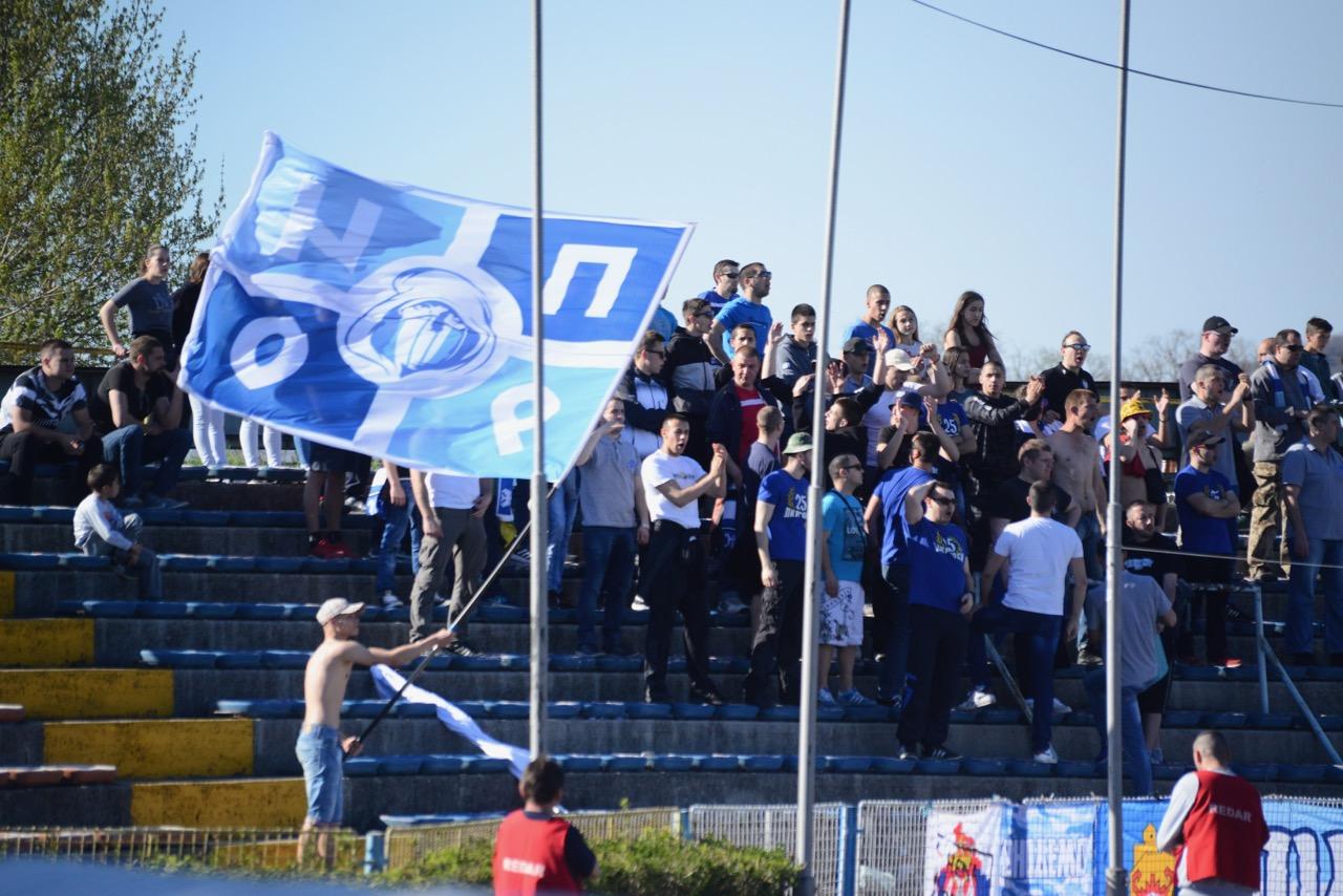 Photo of Evrologolom Marka Mančića Beli vode protiv Beżanije 1:0, to je bio i konačni rezultat