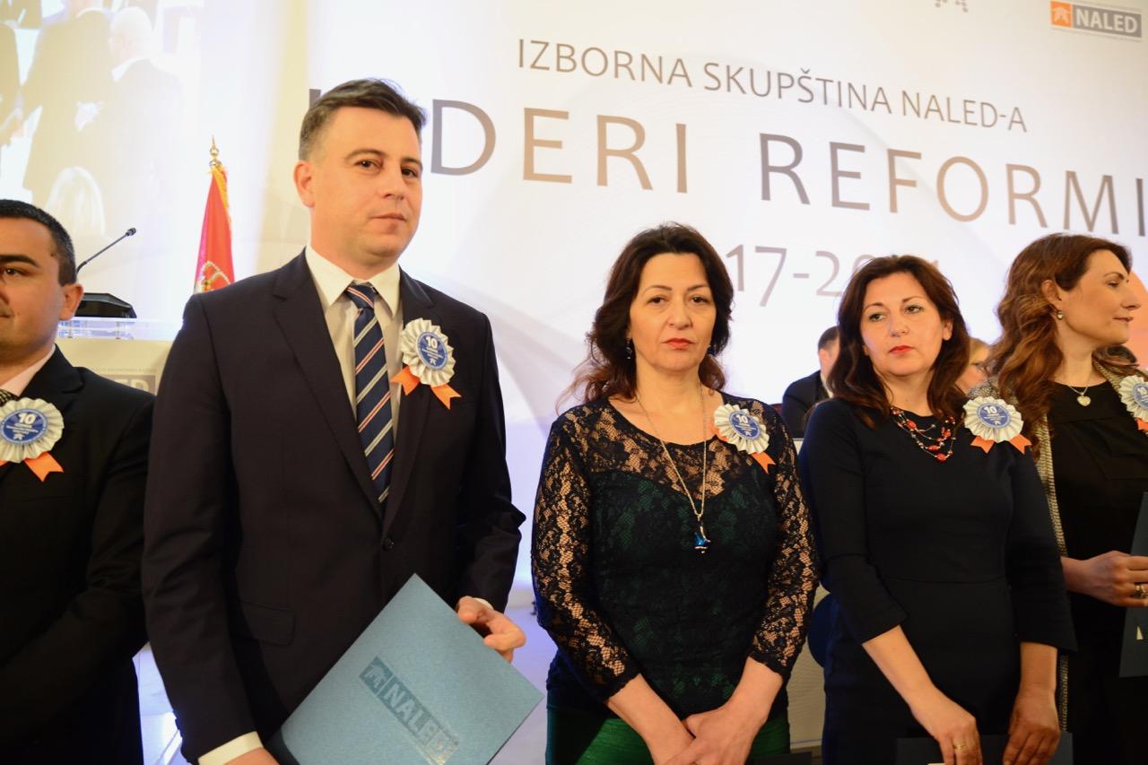 Photo of Pirotu priznanje za deceniju podrške ekonomskom razvoju Srbije NALED-a