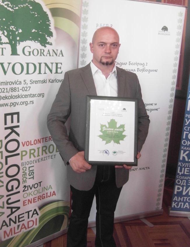 Photo of Nagrada Zeleni list – Udruženju za ekologiju GEA iz Pirota
