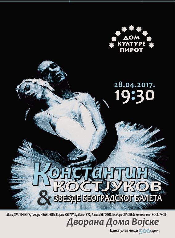 Photo of Konstantin Kostjukov večeras u Pirotu