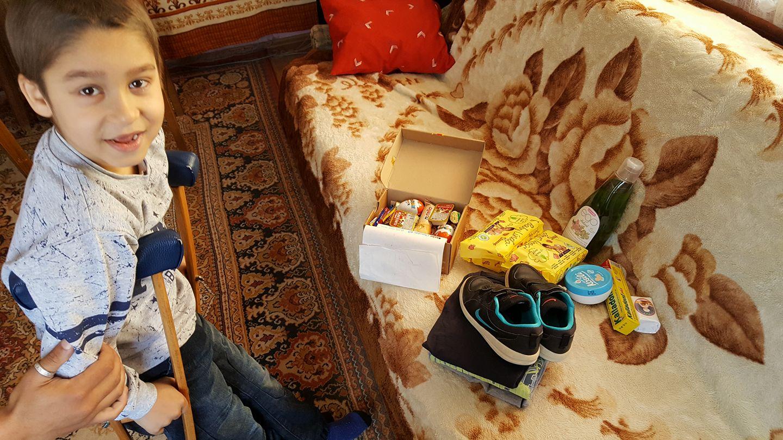 Photo of Paketići i pomoć malim pirotskim Romima