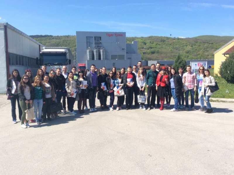Photo of Studenti ekonomije obišli Slobodnu zonu Pirot