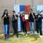 Bronzana medalja za kik-boksere