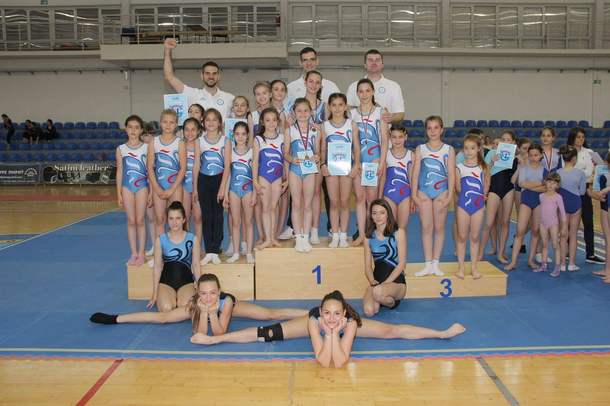 """Photo of Nove medalje za gimnastičare, Mila Đurić """"srebrna"""", Emilija Nikolić """"zlatna"""" a Milica Aleksić brona"""