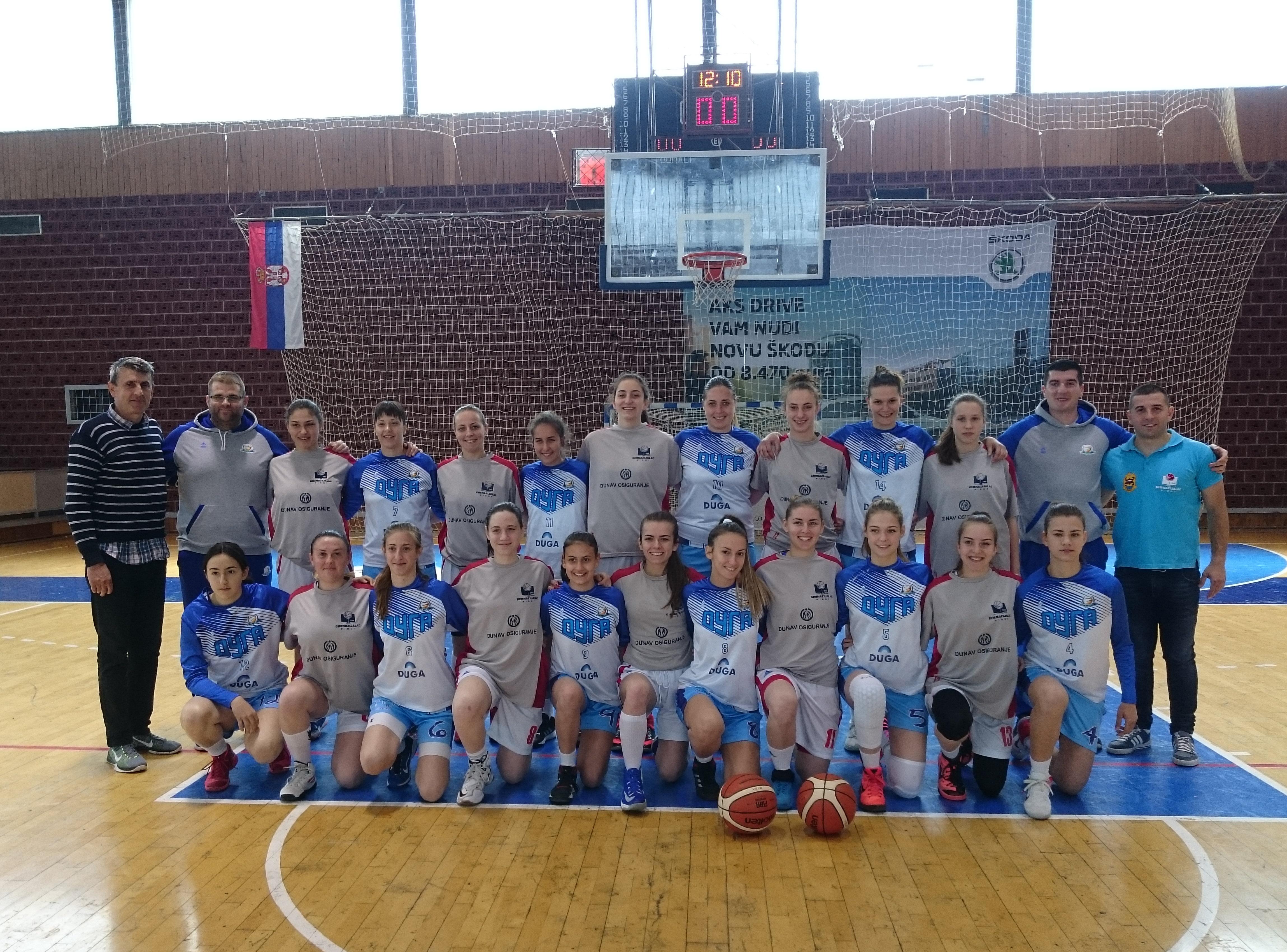 Photo of Sezona za istoriju ženske košarke u Pirotu