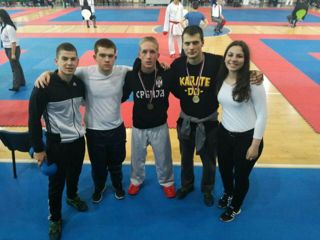 uroš mijalković karate klub proleter