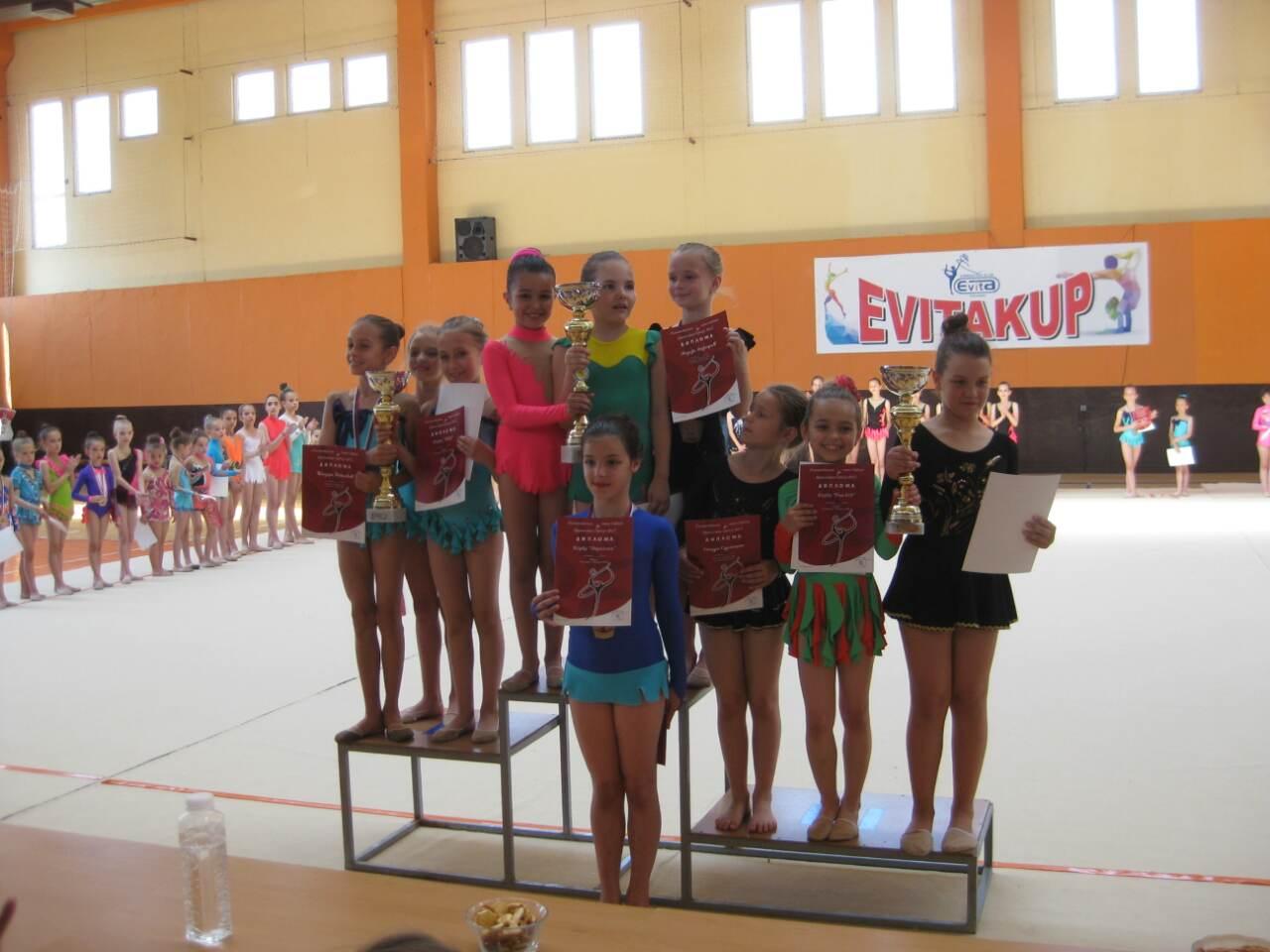 Photo of Uspešne pirotske ritmičke gimnastičarke na prvenstvu države