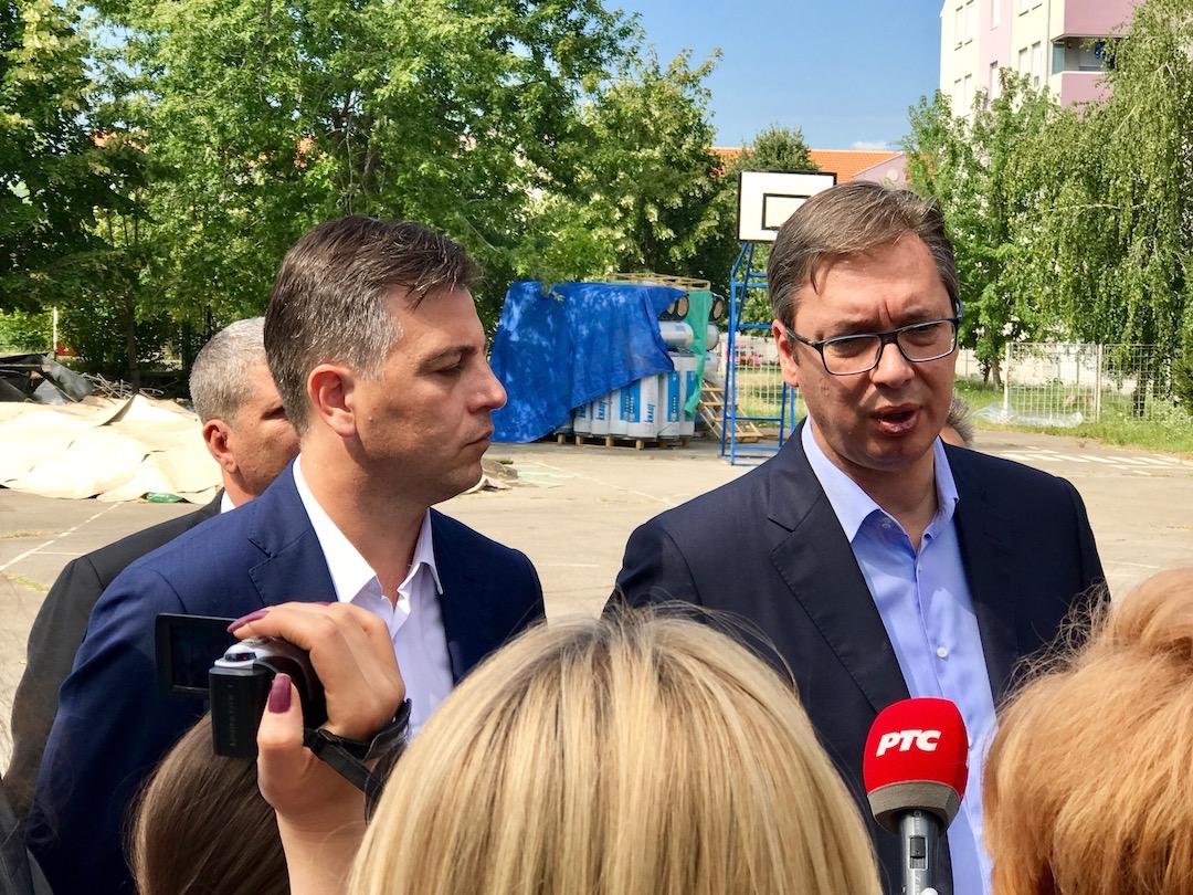 Photo of Vučić u Pirotu: Imamo odličnu saradnju. Pomagaćemo Pirot i dalje