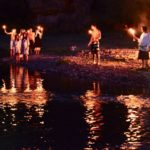 Temštani organizovali proteste - palili sveće za spas Toplodolske reke