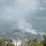 Požar iznad sela Berilovac