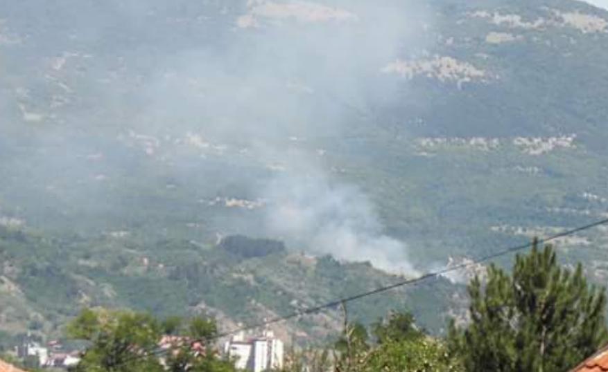 Photo of Požar iznad sela Berilovac