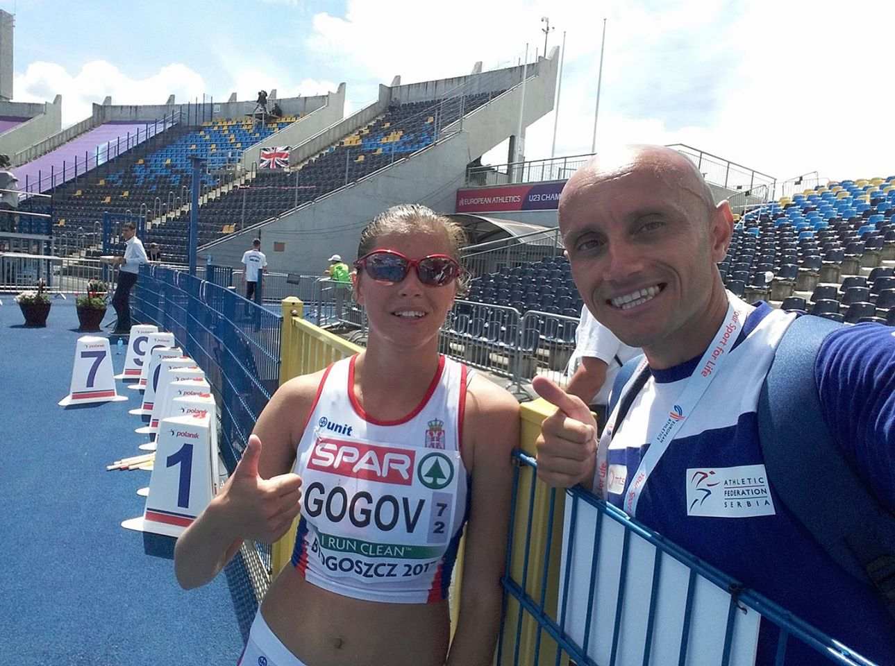 Photo of Danica Gogov 20. na Evropskom prvenstvu u Poljskoj