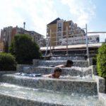 Osveženje i u fontani
