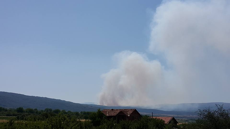 Photo of Veliki požar na deponiji Kruška na putu ka Babušnici