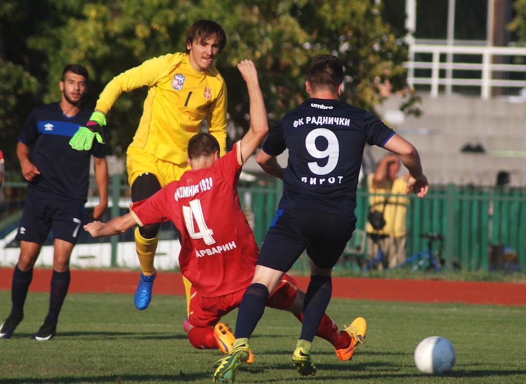 Photo of Radnički poražen na premijeri protiv Temnića