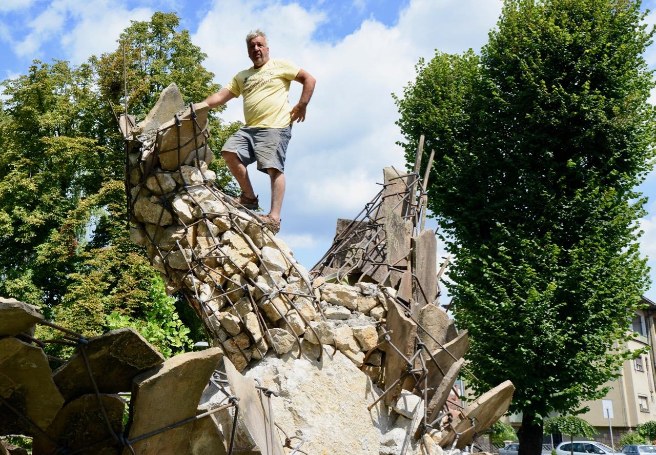 Photo of Zoran Mojsilov za Pirotske vesti: Pozivam vandale da mi na leto pomognu da popravimo Jabučila