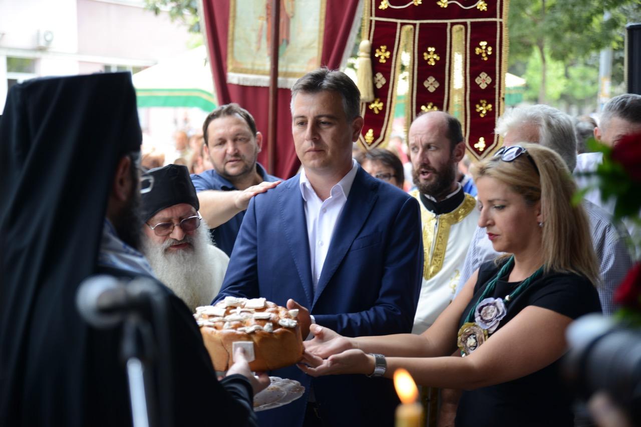 Photo of Gradonačelnik Vasić: Obnavljanjem gradske slave počeli smo duhovnu obnovu našeg grada