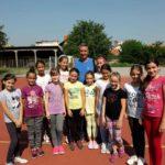Mali pirotski sportisti na Sportskim igrama mladih u Splitu