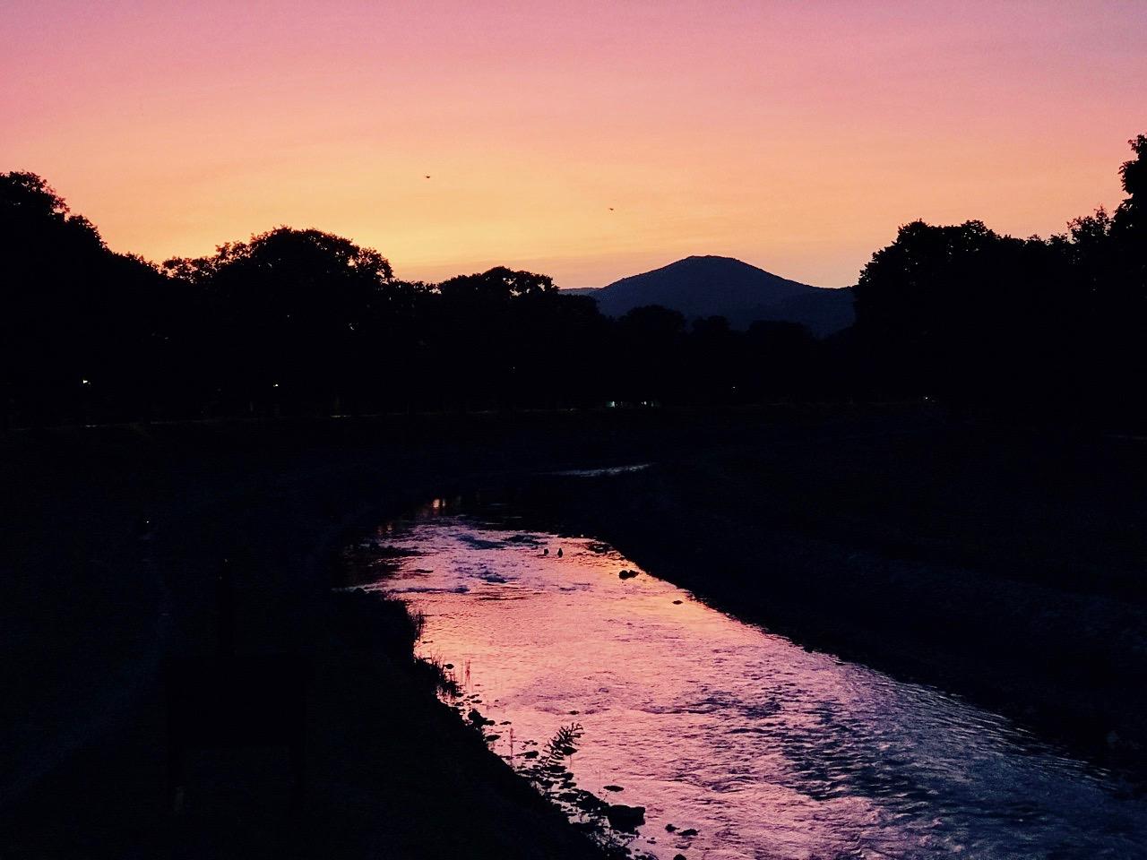 Photo of Zalazak sunca na Keju pored Nišave